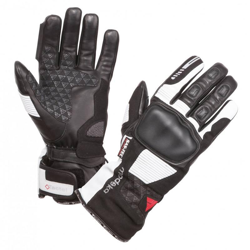 Modeka Handschuhe Tacoma, schwarz-hellgrau