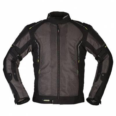 Modeka Herren Textiljacke Khao Air, dunkelgrau-schwarz