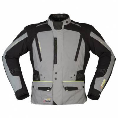 Modeka Herren Textiljacke Viper LT, grau-schwarz