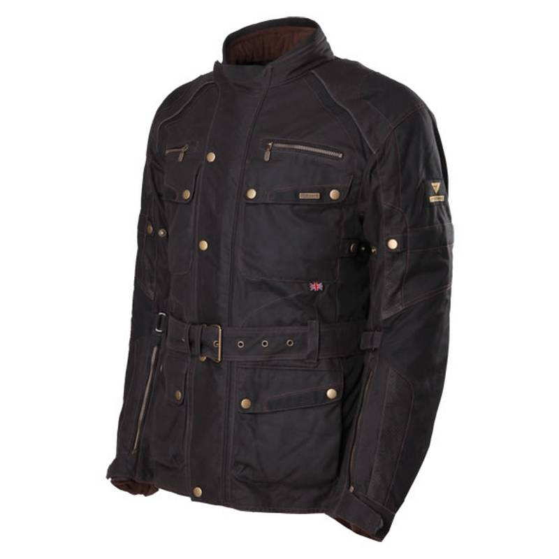 Modeka Jacke Glasgow, schwarz