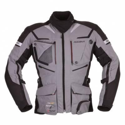 Modeka Jacke Panamericana, grau-schwarz