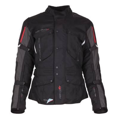 Modeka Jacke Ventura GT, schwarz-dunkelgrau