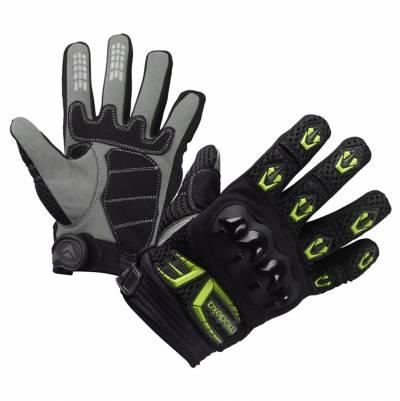 Modeka Kinder-Handschuhe MX Top Kids, schwarz-fluogelb