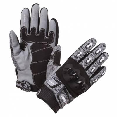Modeka Kinder-Handschuhe MX Top Kids, schwarz-grau
