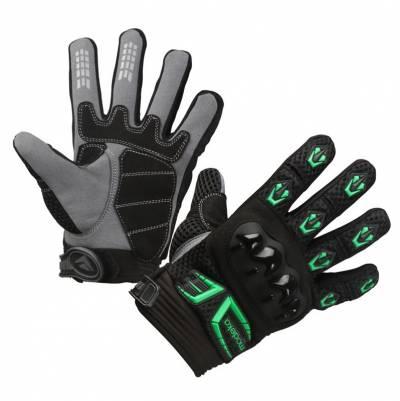 Modeka Kinder-Handschuhe MX Top Kids, schwarz-grün