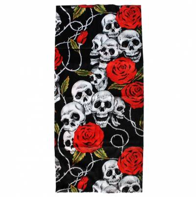 Modeka Multifunktionstuch, Skull & Roses
