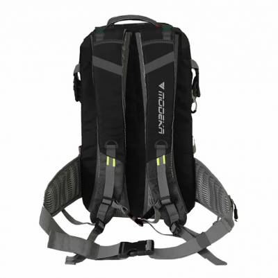 Modeka Rucksack Adventure Pack, grau-schwarz, 28 Liter