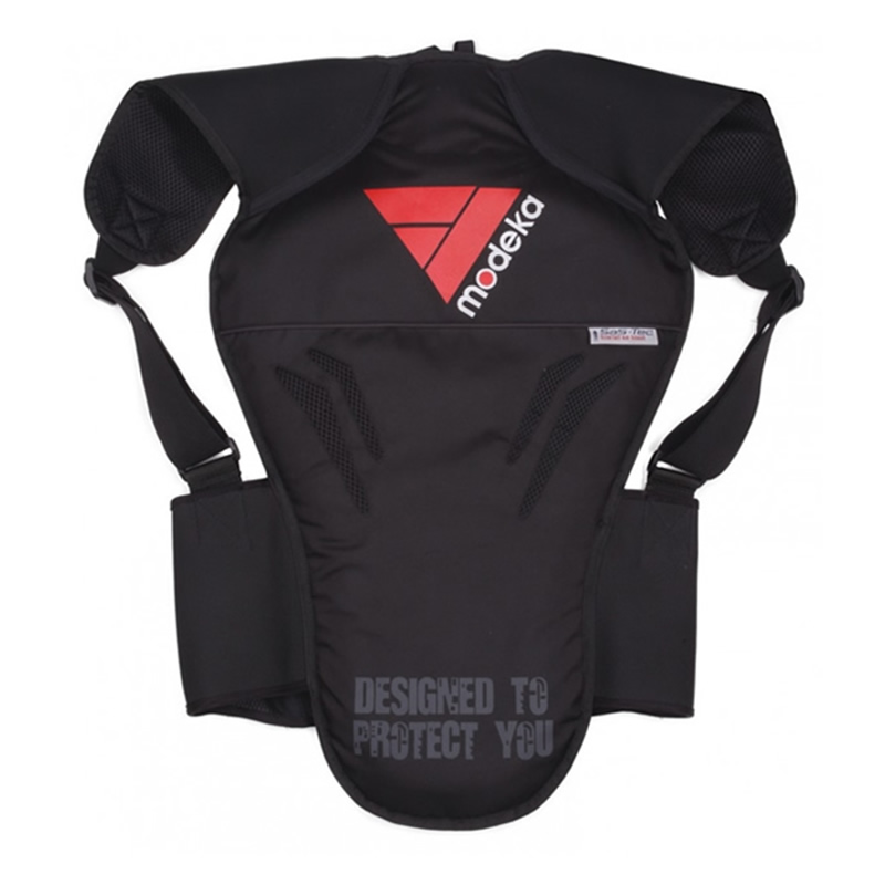 Modeka Rückenprotektor, schwarz