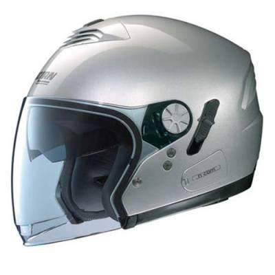 Nolan B-Ware Helm N43 Classic N-com, silber