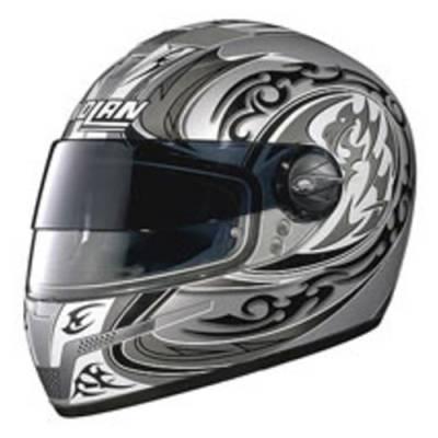 Nolan B-Ware Helm N84 Leopard VPS #30, schwarz-grau-weiß
