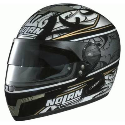 Nolan B-Ware Helm N84 Tempt #61, schwarz-grau