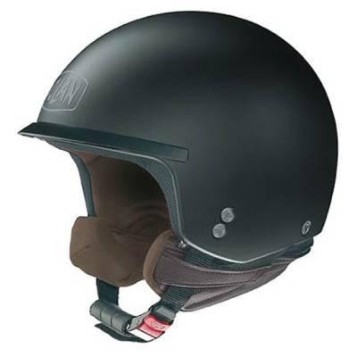 Nolan Helm N20 Peak Classic Plus, schwarz-matt