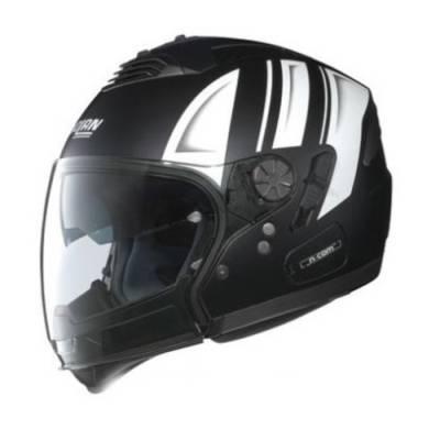 Nolan Helm N43 Air Motorrad, schwarz-weiß