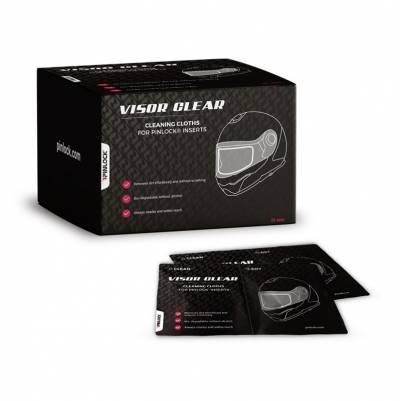 Pinlock Reinigungstücher Visor Clear - 30er Spender