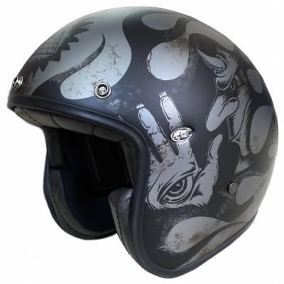 Premier Helm Le Petit EVO BD 17 BM, schwarz-titan matt