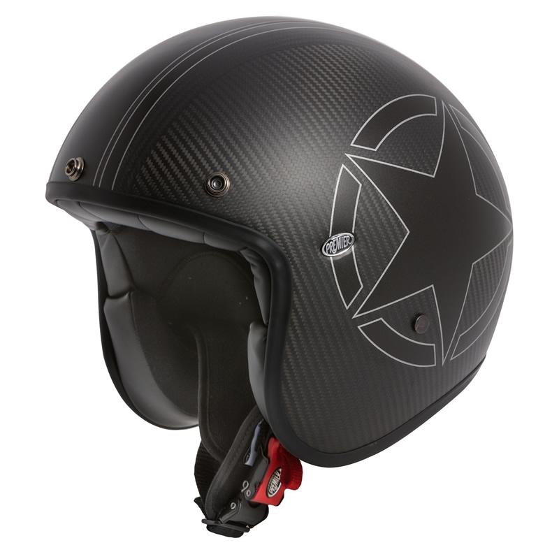 Premier Helm Le Petit Star Carbon BM, schwarz-matt