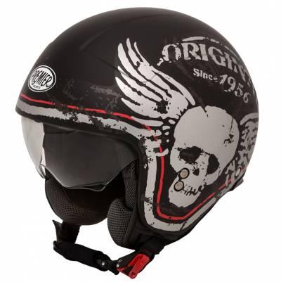 Premier Helm Rocker K92 BM, schwarz-weiß