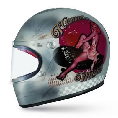 Premier Helm Trophy PinUp Old Style, silber-dekor