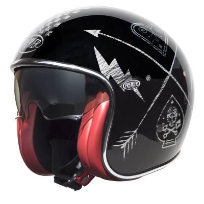 Premier Helm Vintage NX Silver Chrom, schwarz-silber
