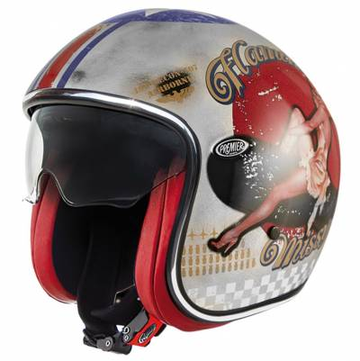 Premier Helm Vintage Pin Up Old Style