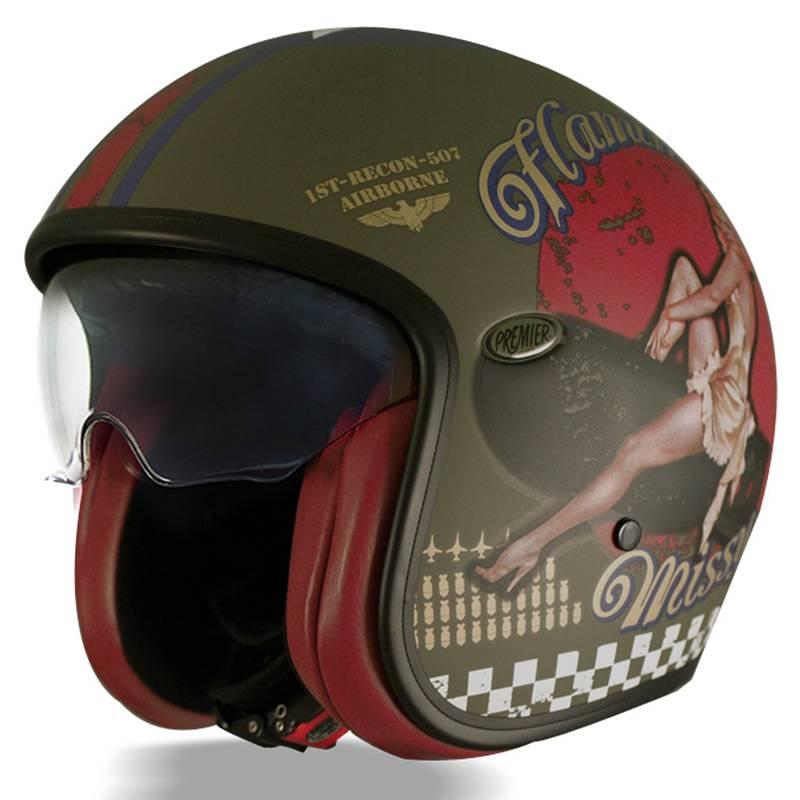 Premier Helm Vintage PinUp Military