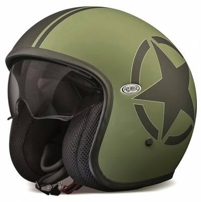 Premier Helm Vintage Star Military, olivgrün