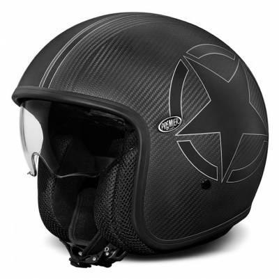 Premier Jethelm Vintage EVO Star Carbon BM, carbon schwarz matt