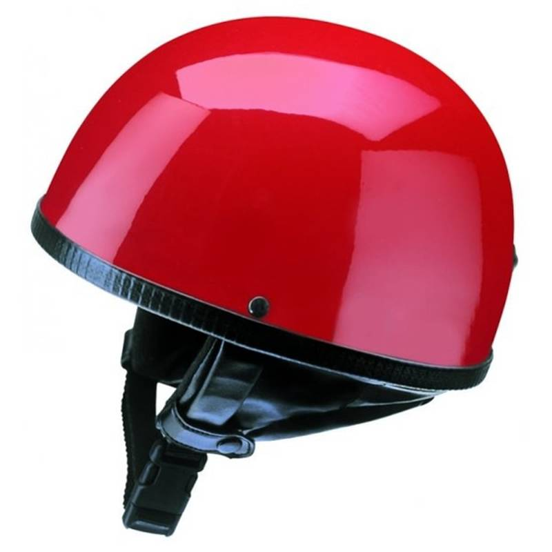 Redbike Halbschalenhelm RB 500, rot