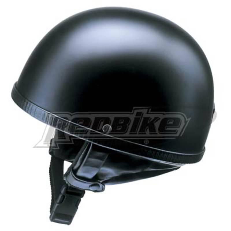 Redbike Halbschalenhelm RB 500, schwarz