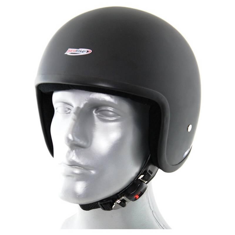 Redbike Helm RB 650 schwarz-matt