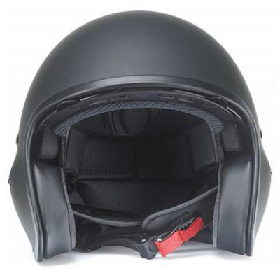 Redbike Jethelm Helm RB780, schwarz-matt
