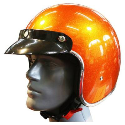 Redbike Jethelm RB 765, orange metallic