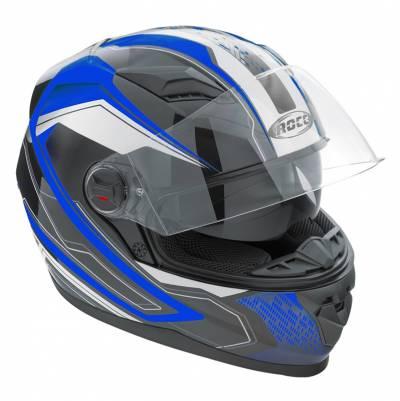 ROCC 321 Integralhelm, schwarz-blau