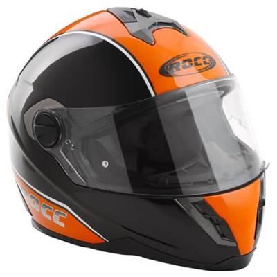 ROCC 521 Integralhelm, orange-schwarz