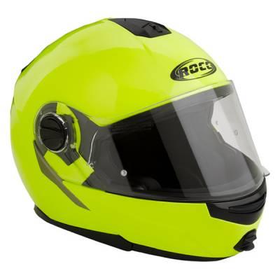 ROCC 680 Klapphelm, neon-gelb