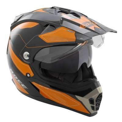 ROCC 771 Crosshelm, schwarz-orange
