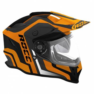 ROCC Endurohelm 781, schwarz-orange