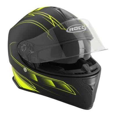 ROCC Helm 431, schwarz-gelb matt