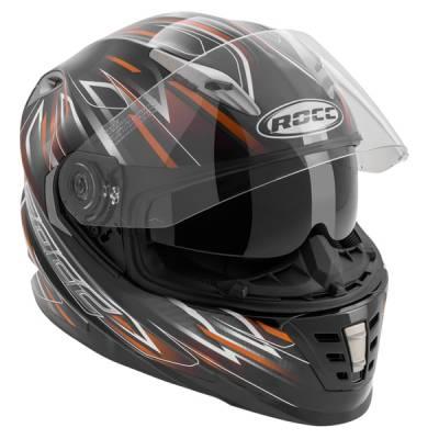 ROCC Helm 483, schwarz-orange