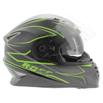 ROCC Helm 484, schwarz-grün