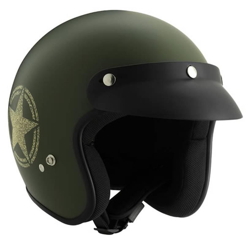 ROCC Helm Classic Star, oliv