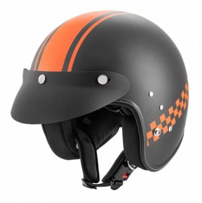 ROCC Jethelm Classic Pro TT, schwarz-orange matt