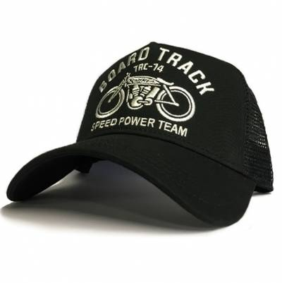 ROKKER Cap Board Track Trukker, schwarz