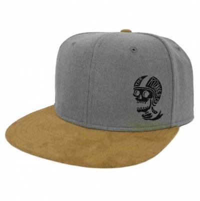 ROKKER Cap Hellmut Snapback, grau-beige