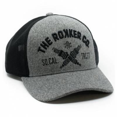 ROKKER Cap TRC 77 Trukker, grau-schwarz