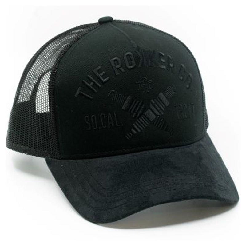 ROKKER Cap TRC 77 Trukker, schwarz