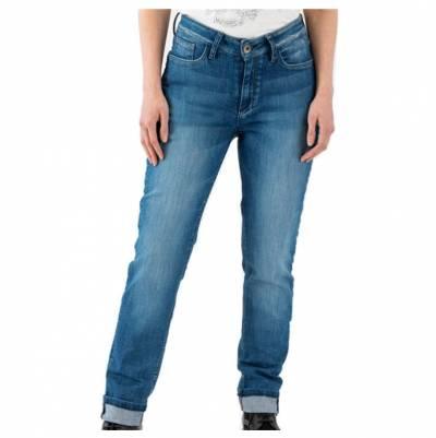 ROKKER Damen Jeans Birdie, L34 blau