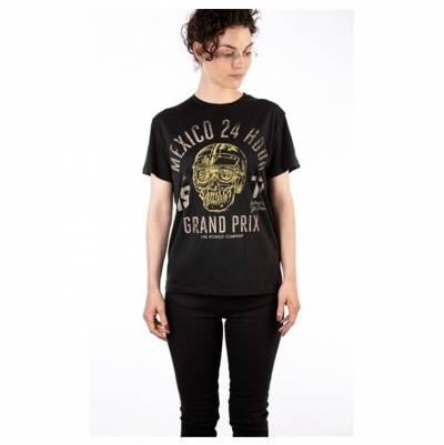 ROKKER Damen T-Shirt Mexico Loose, schwarz