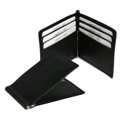 ROKKER Geldbeutel american wallet mit Clip schwarz