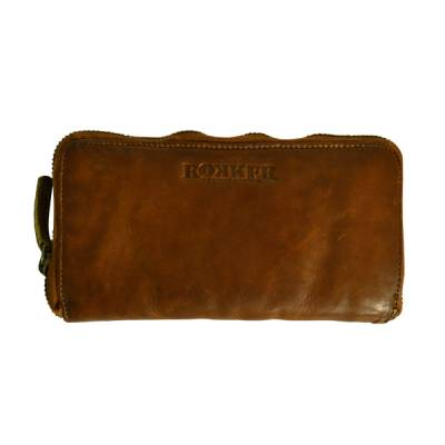 ROKKER Geldbeutel Lady Wallet Big, cognac